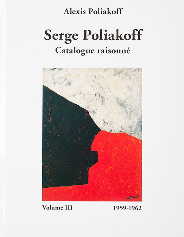 Serge Poliakoff, catalogue raisonnés Volume 2, Edition Galerie Française