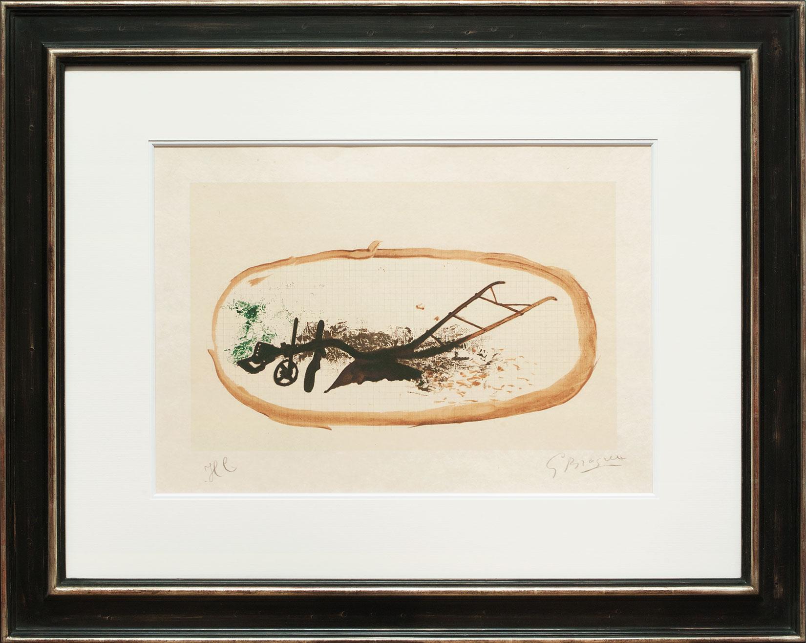 Georges Braque « La charrue » Galerie Française