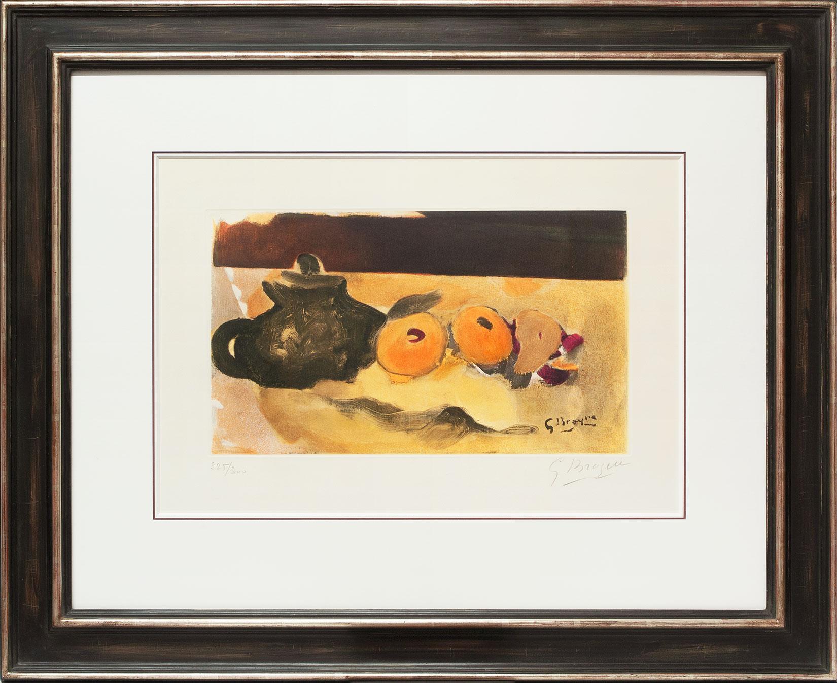 Georges Braque « La nappe jaune » Galerie Française