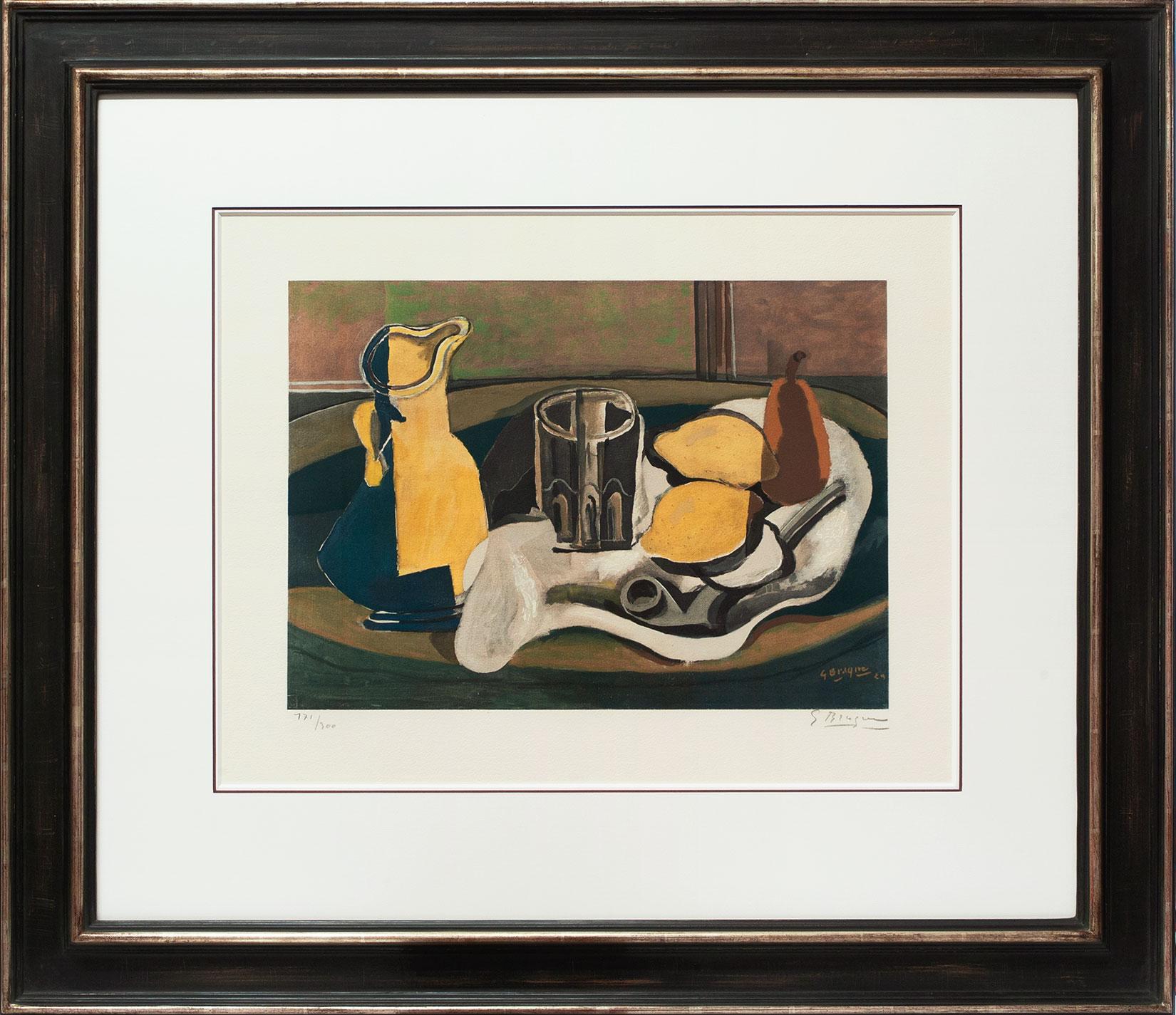 Georges Braque « Nature morte aux citrons » Galerie Française