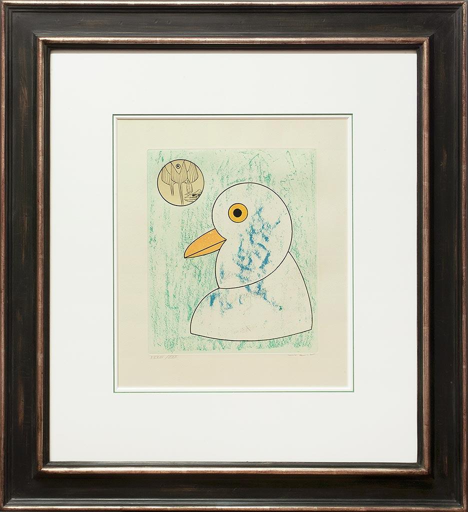 Max Ernst « L'oiseau en péril VIII » Galerie Française