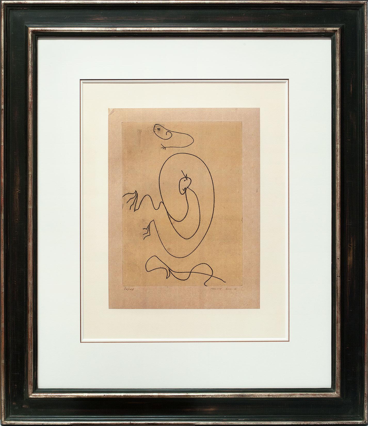 Max Ernst « Ohne Titel » Galerie Française