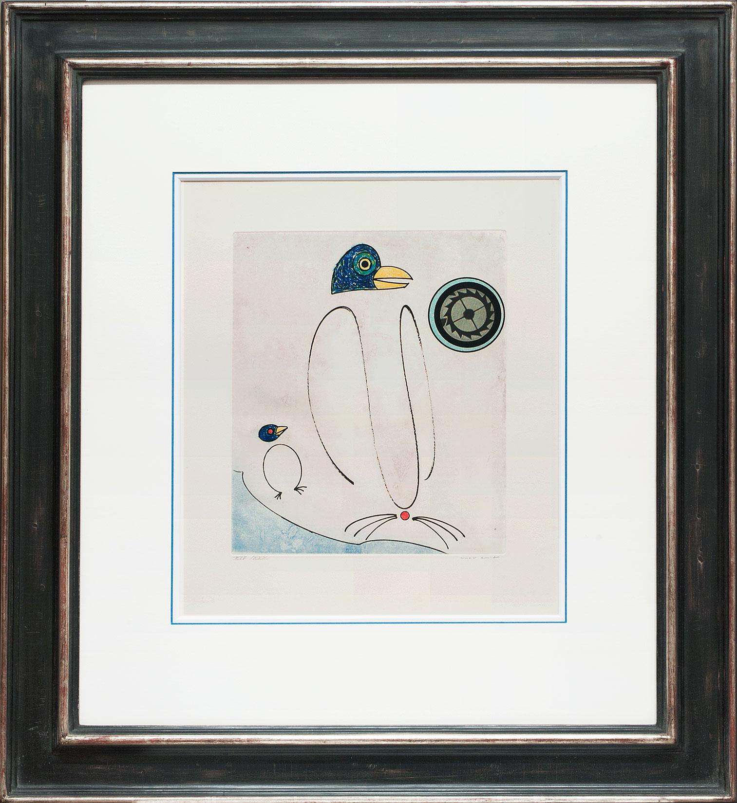 Max Ernst « L'oiseau en péril II » Galerie Française
