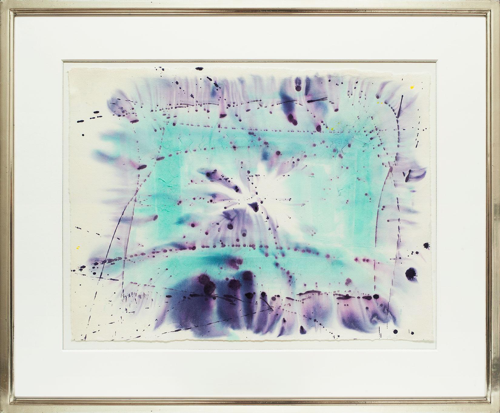 Sam Francis « Ohne Titel (SF-75-126) » Galerie Française