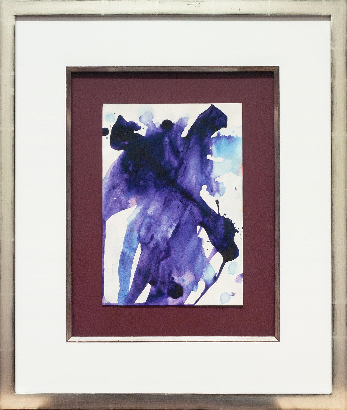 Sam Francis « Ohne Titel (SF-75-1119) » Galerie Française