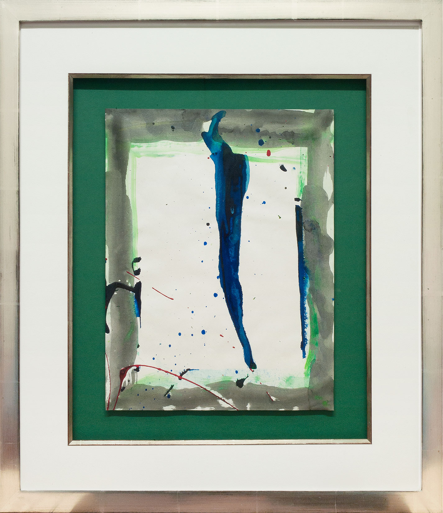 Sam Francis « Ohne Titel (SF-90-198) » Galerie Française