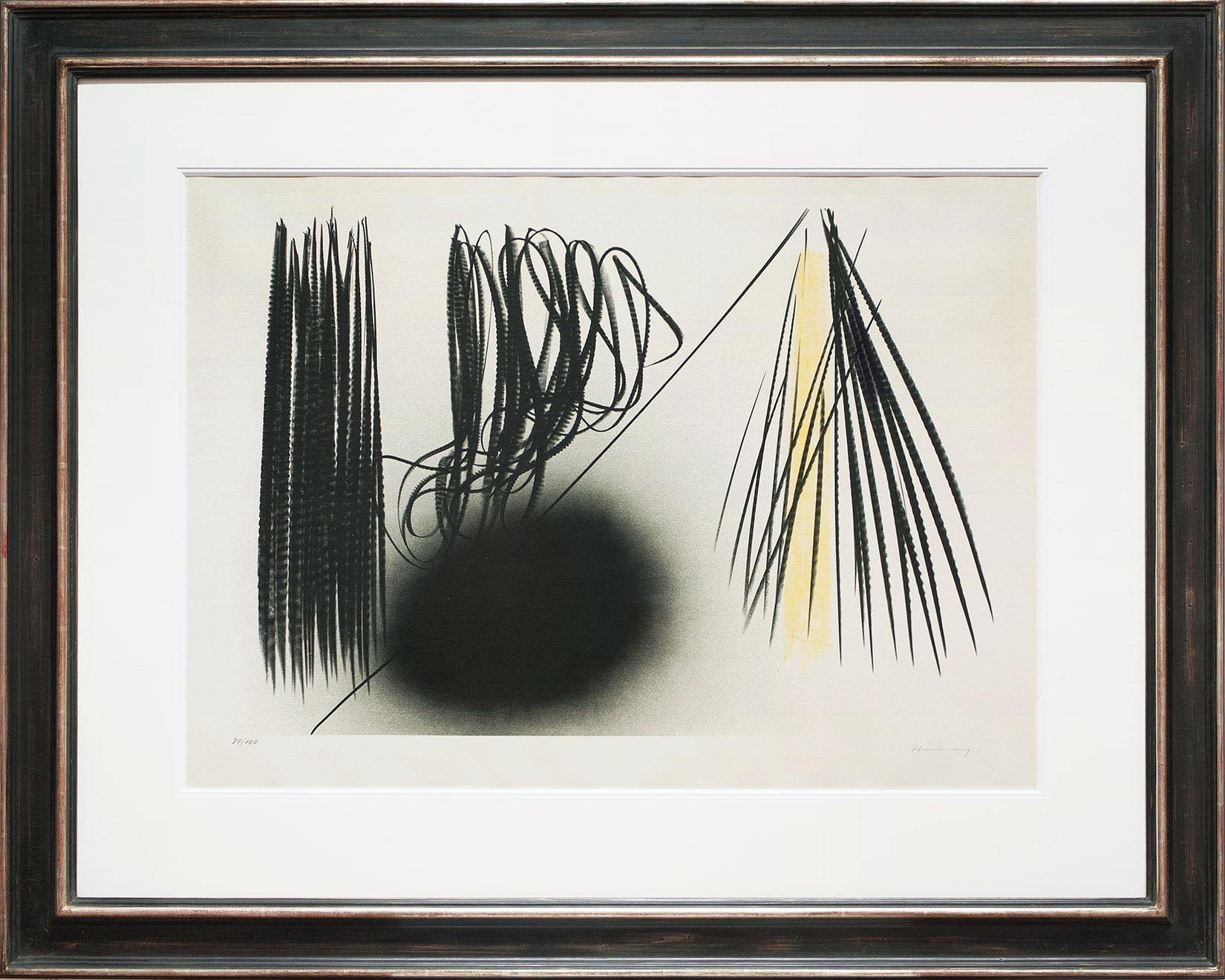 Hans Hartung « Composition L-1970-21 » Galerie Française