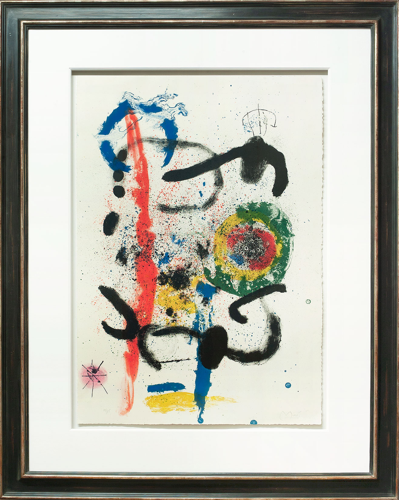 Joan Miró « La cascade » Galerie Française