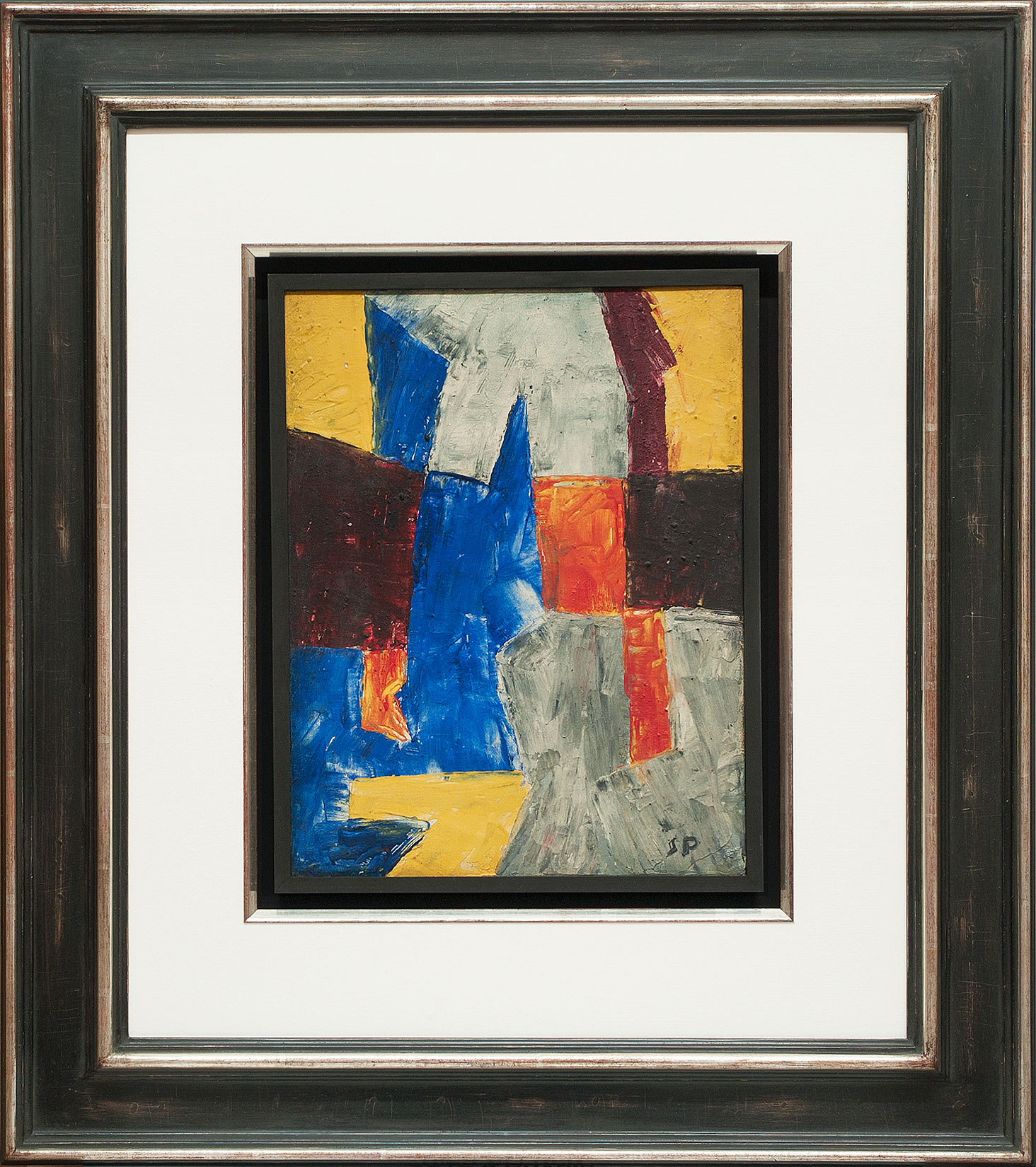 Serge Poliakoff « Composition multicolore » Galerie Française