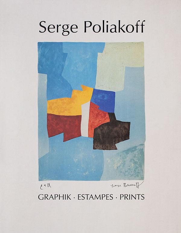 Serge Poliakoff – Graphik, Estampes, Prints – Edition Galerie Française
