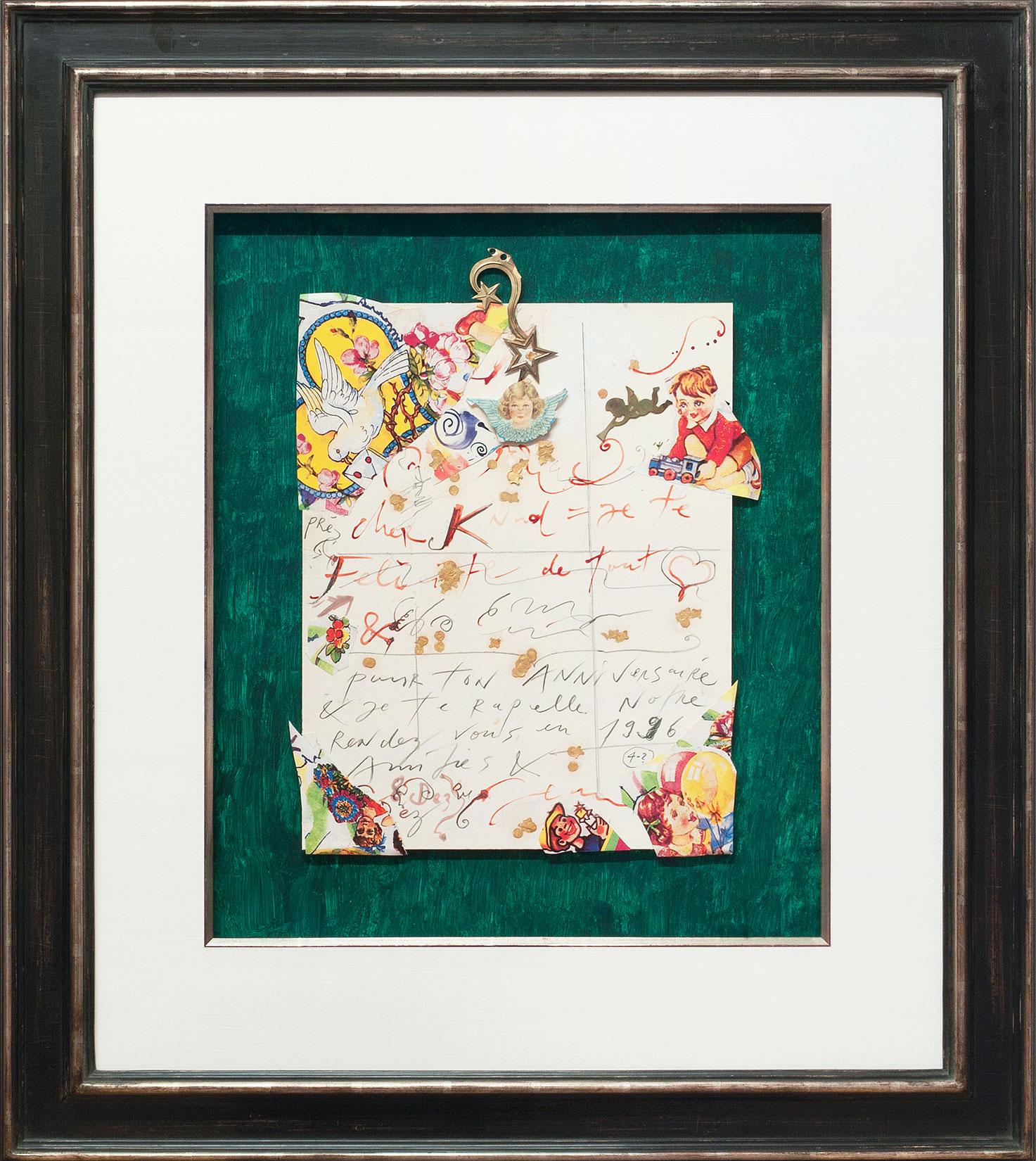 Jean Tinguely « Cher Knud » Galerie Française