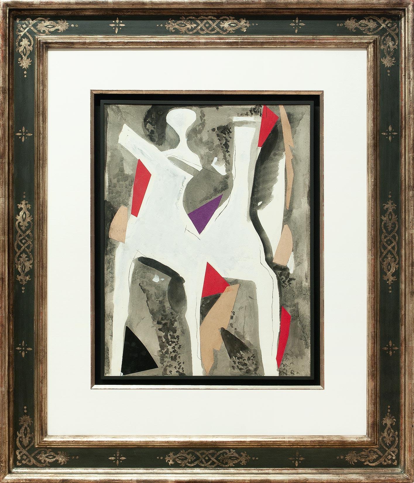 Marino Marini « Giocolieri e cavallo » Galerie Française