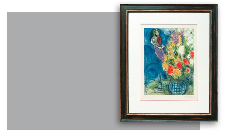 Marc Chagall, Les coquelicots