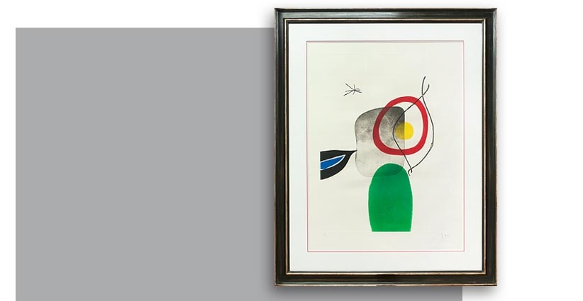 Joan Miró, Tir à l'arc