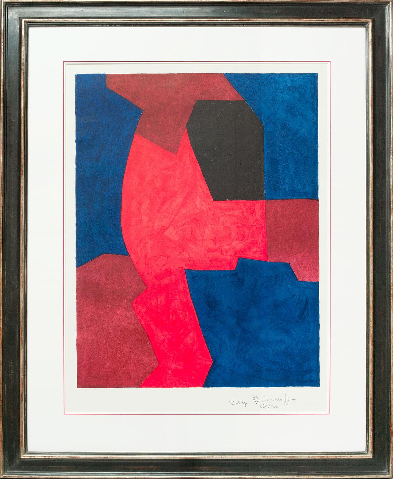 Serge Poliakoff «Composition» Galerie Française