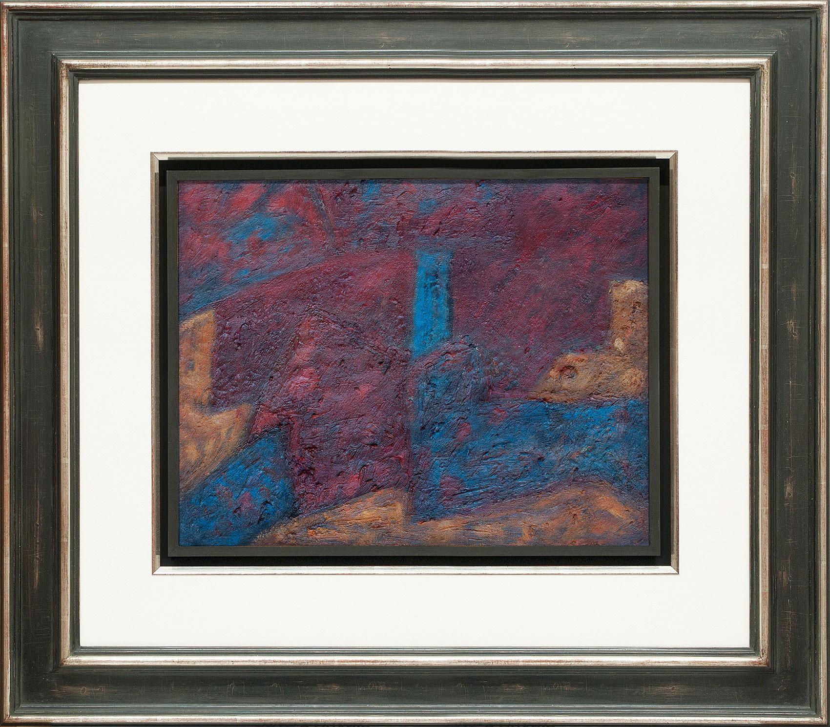 Serge Poliakoff, Composition ocre rouge et bleu, Galerie Française