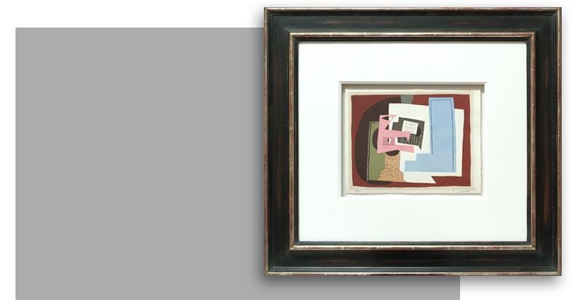 Pablo Picasso, Nature morte à la guitare, Galerie Française