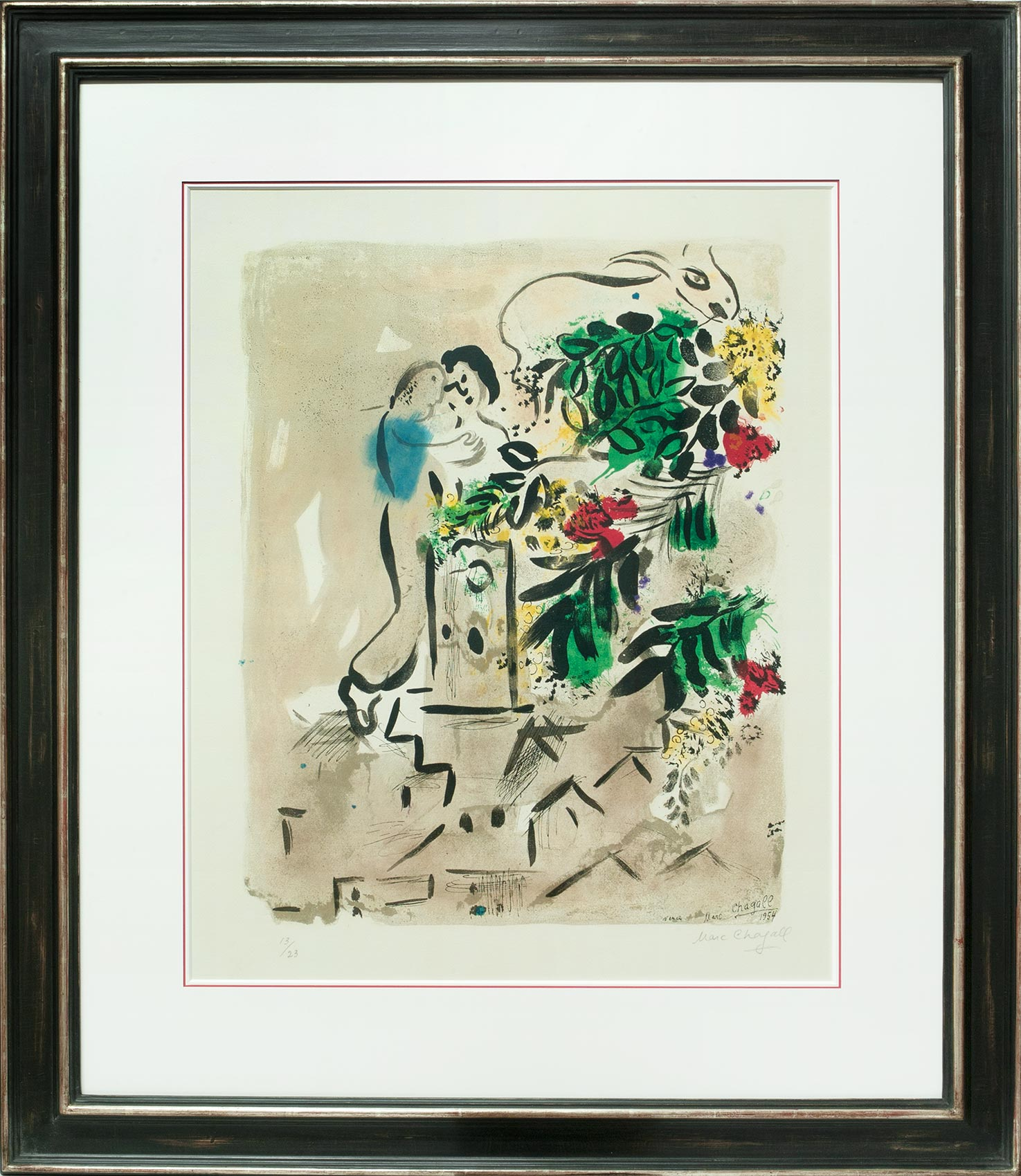 Marc Chagall, Hommage à St. Paul de Vence, Galerie Française