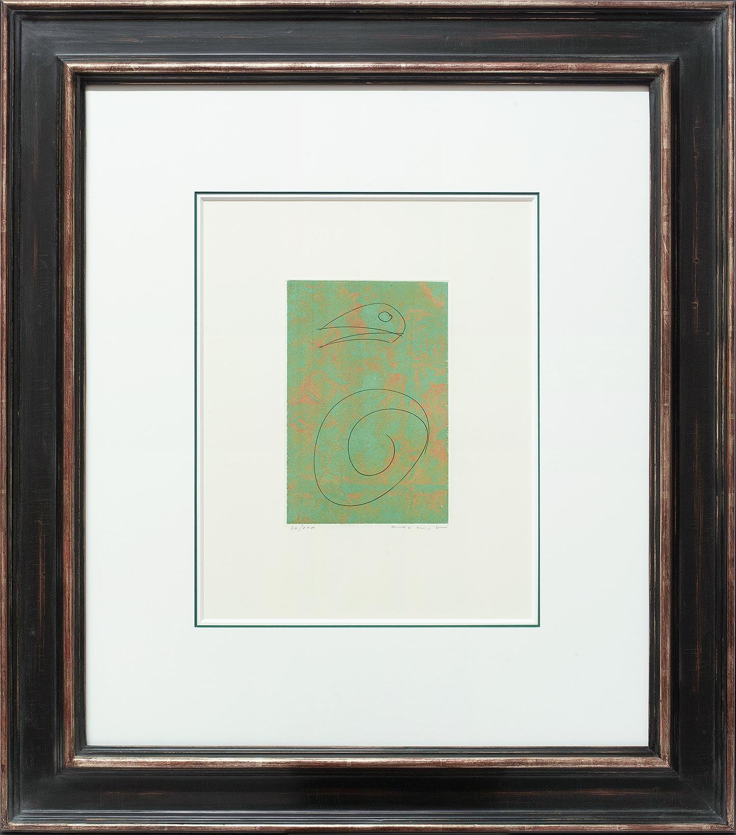 Max Ernst, Oiseau vert, Galerie Française